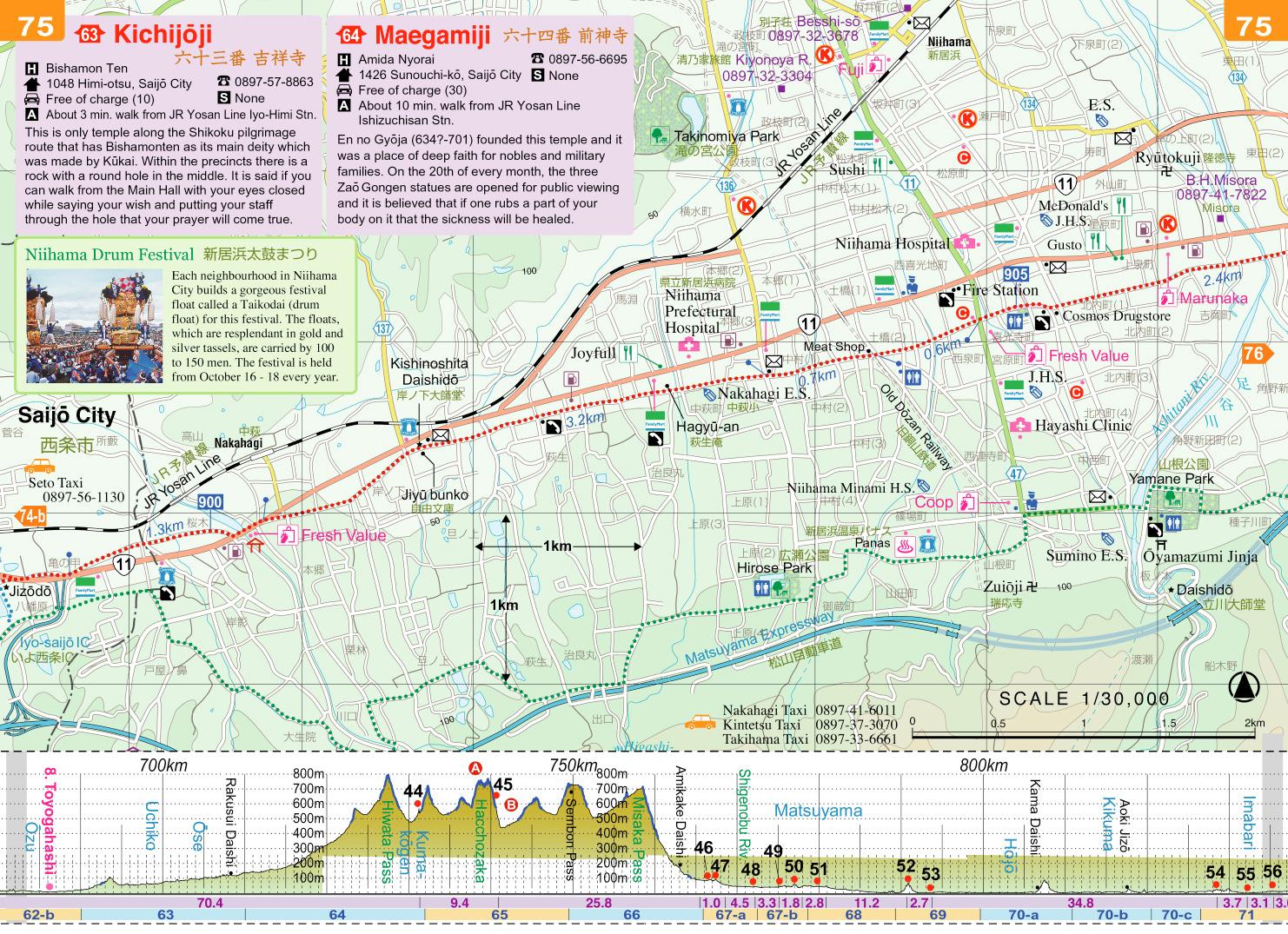 Day 36, Temples 65-66, 27km – Shikoku 88 Temple Pilgrimage ...